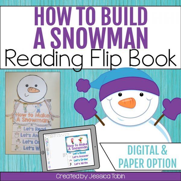 Snowman Flip Book