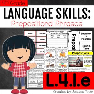 L.4.1.e- Prepositional Phrases