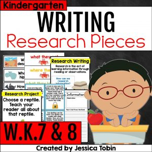 W.K.7 and W.K.8 Shared Writing & Research Writing