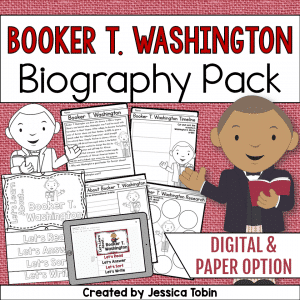 Booker T. Washington Biography Pack