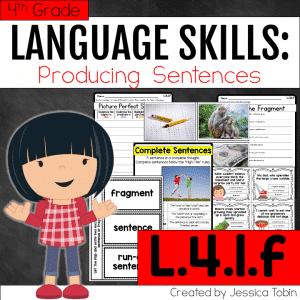 L.4.1.f- Producing Complete Sentences