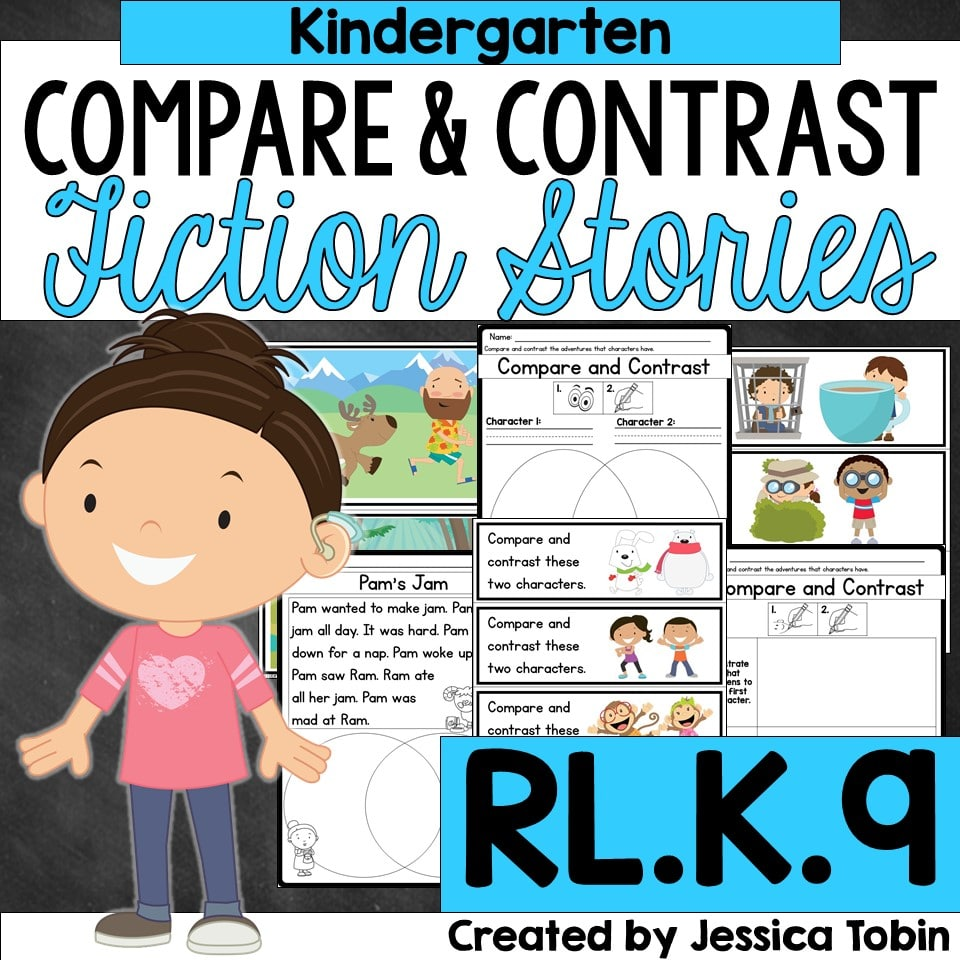 Kindergarten compare and contrast fiction stories
