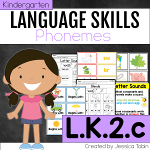 L.K.2.c Letters to Represent Phonemes