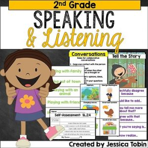 2nd Grade Speaking and Listening