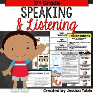 3rd Grade Speaking and Listening SL