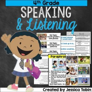 4th Grade Speaking and Listening