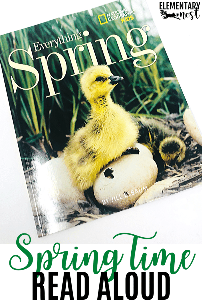 Everything Spring- nonfiction spring book