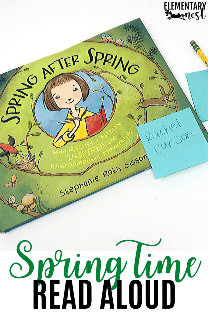 Spring After Spring book for spring time read alouds