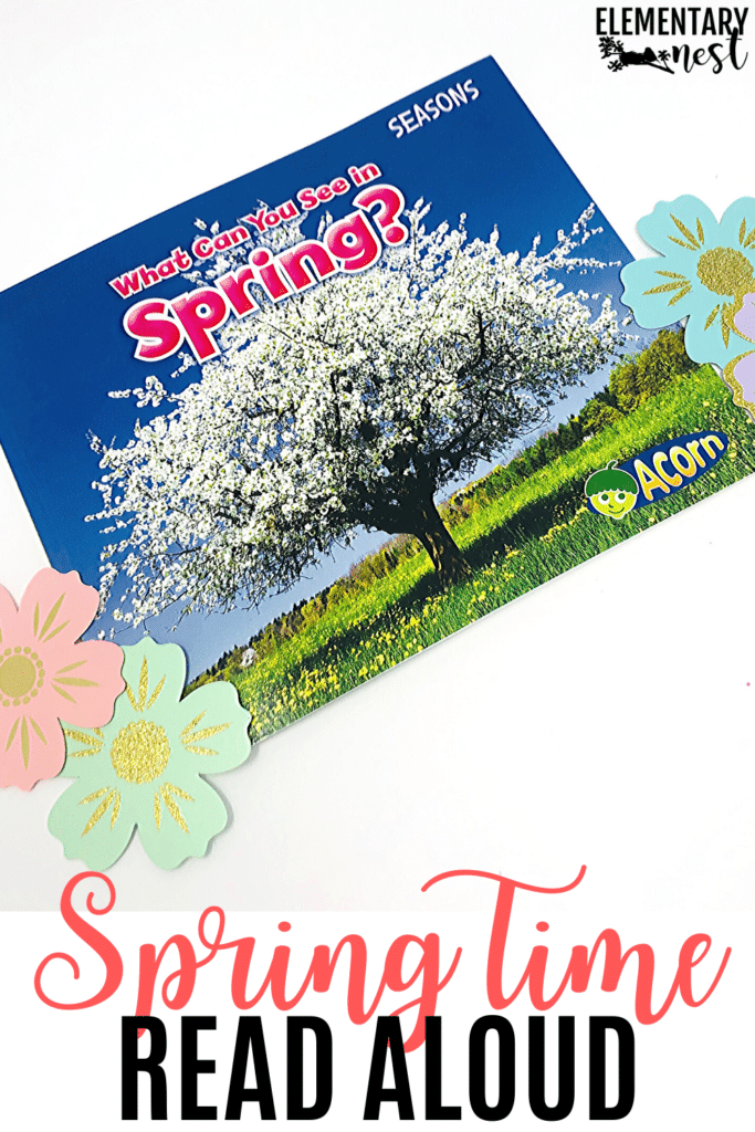 What Can You See In Spring? spring nonfiction book