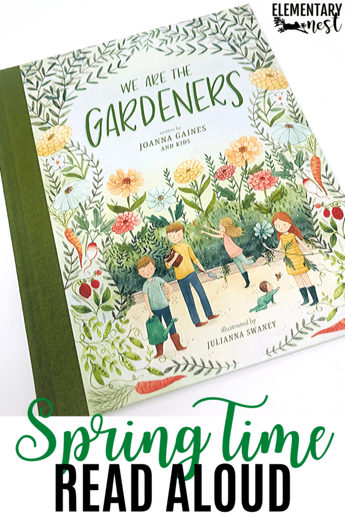 We Are the Gardeners by Joanna Gaines text for spring read alouds