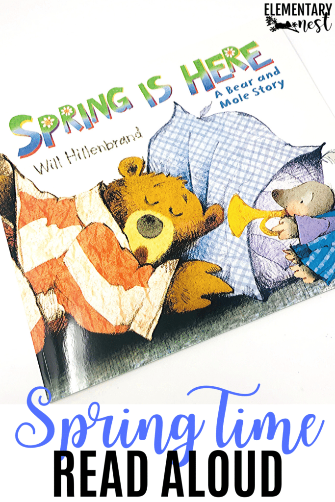 Spring is Here for spring read-alouds