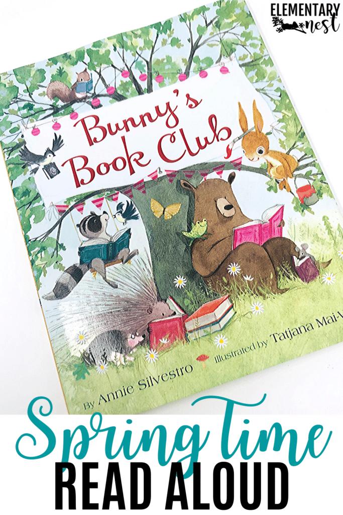 Bunny's Book Club spring read aloud