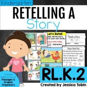 RL.K.2 Story Retelling