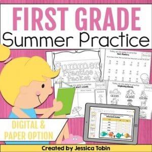 First Grade Summer Pack