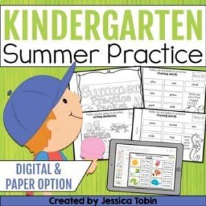 Summer Packet Kindergarten