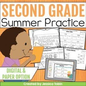 Second Grade Summer Packet