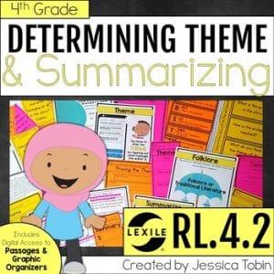 RL.4.2 Determining Theme in Literature Text