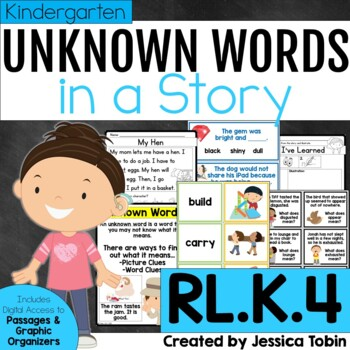 RL.K.4 Unknown Words and Context Clues