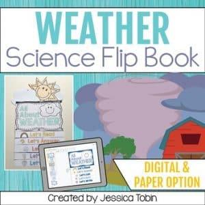 Weather Activities Flip Book