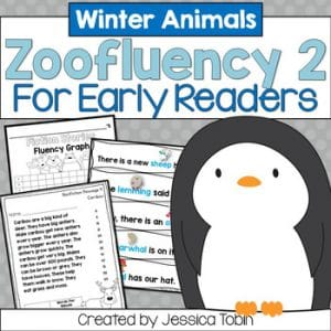 Winter Fluency for Early Readers