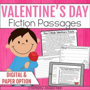 Valentines Day Activities Reading Passages