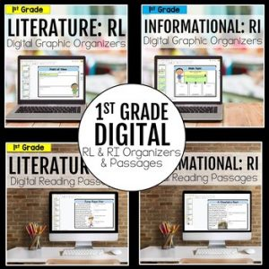 1st Grade DIGITAL RL and RI Bundle