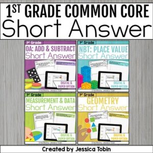 1st Grade Math Word Problems Bundle