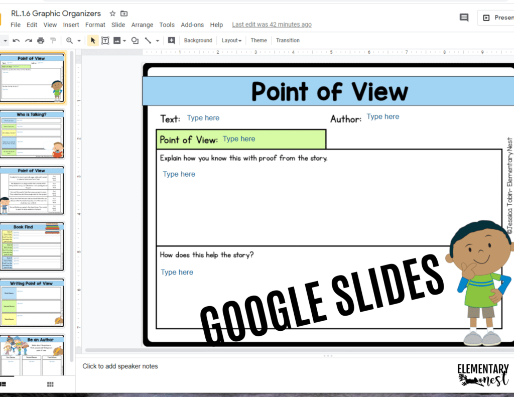 preview at google slides product