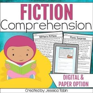 Reading Fictional Comprehension Passages
