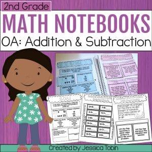 2nd Grade OA Math Interactive Notebook