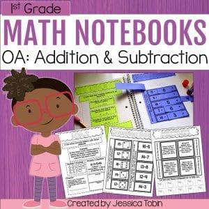 1st Grade OA Math Notebook