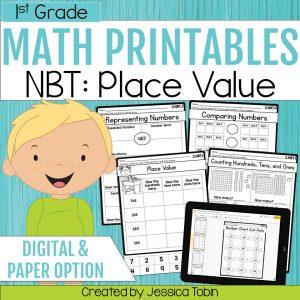 1st Grade NBT Math Worksheets