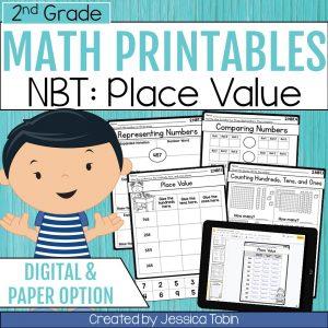 2nd Grade NBT Math Worksheets