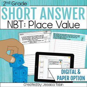 2nd Grade Word Problems NBT Place Value
