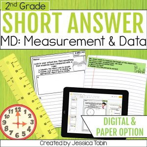 2nd Grade Word Problems - Measurement and Data