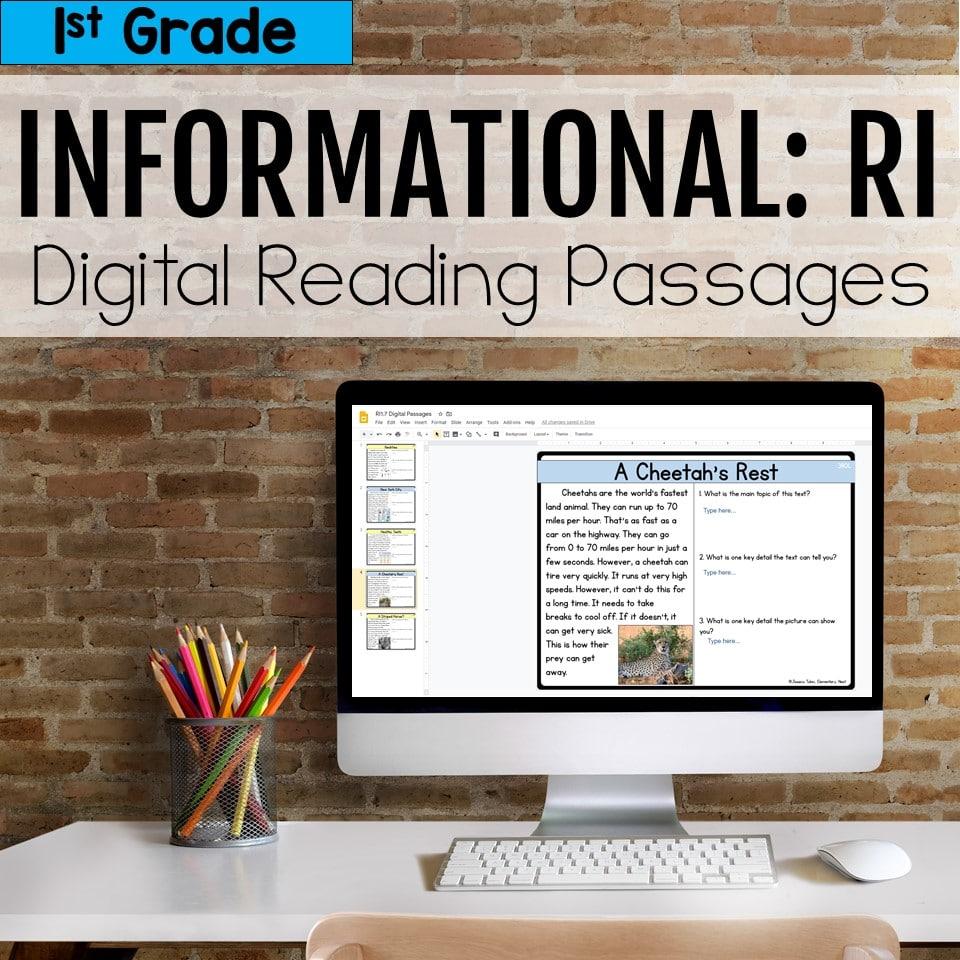 Informational Digital Reading Passages
