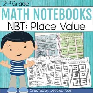 2nd Grade NBT Math Interactive Notebook