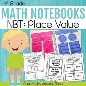 1st Grade NBT Interactive Notebook