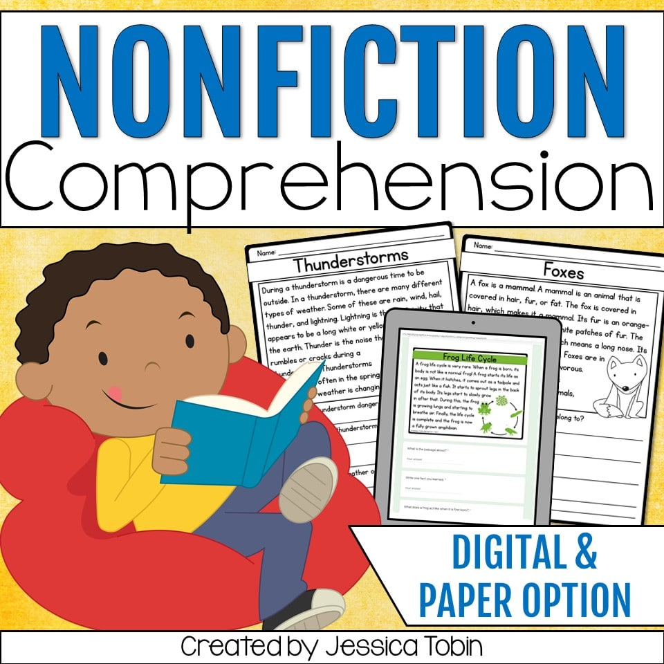 Nonfiction comprehension
