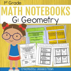 1st Grade Geometry Interactive Notebook