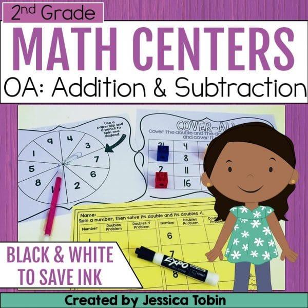 2nd Grade OA Math Centers