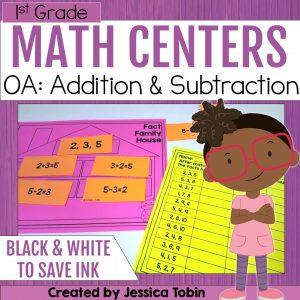 1st Grade OA Math Centers