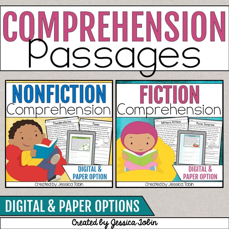 Comprehension Passages Resource