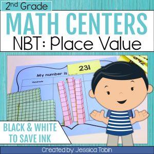 2nd Grade NBT Math Centers