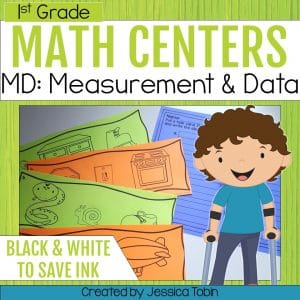1st Grade Measurement and Data Math Centers