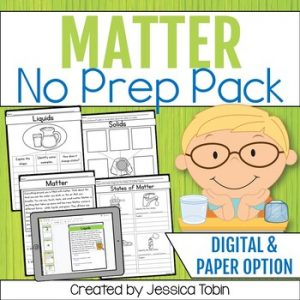 States of Matter and Matter Worksheets