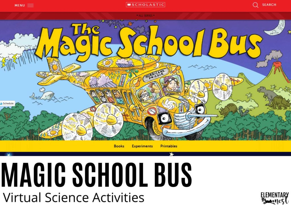 Magic School Bus science digital learning