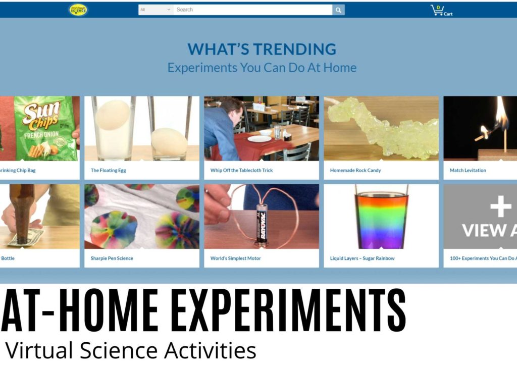 Steve spangler science experiments at home