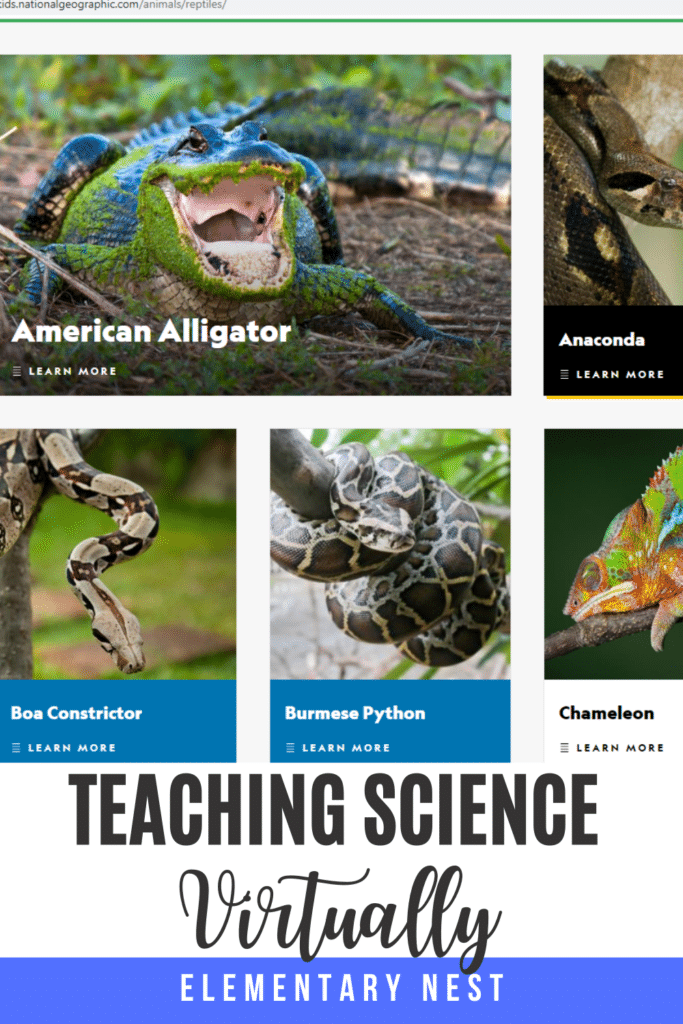 Learn more about how to teach science with technology and digital learning. Virtual science activities are discussed for hands-on learning, science research, science reading activities and more. There are virtual field trips, science experiments for elementary kids at home, and distance learning options.