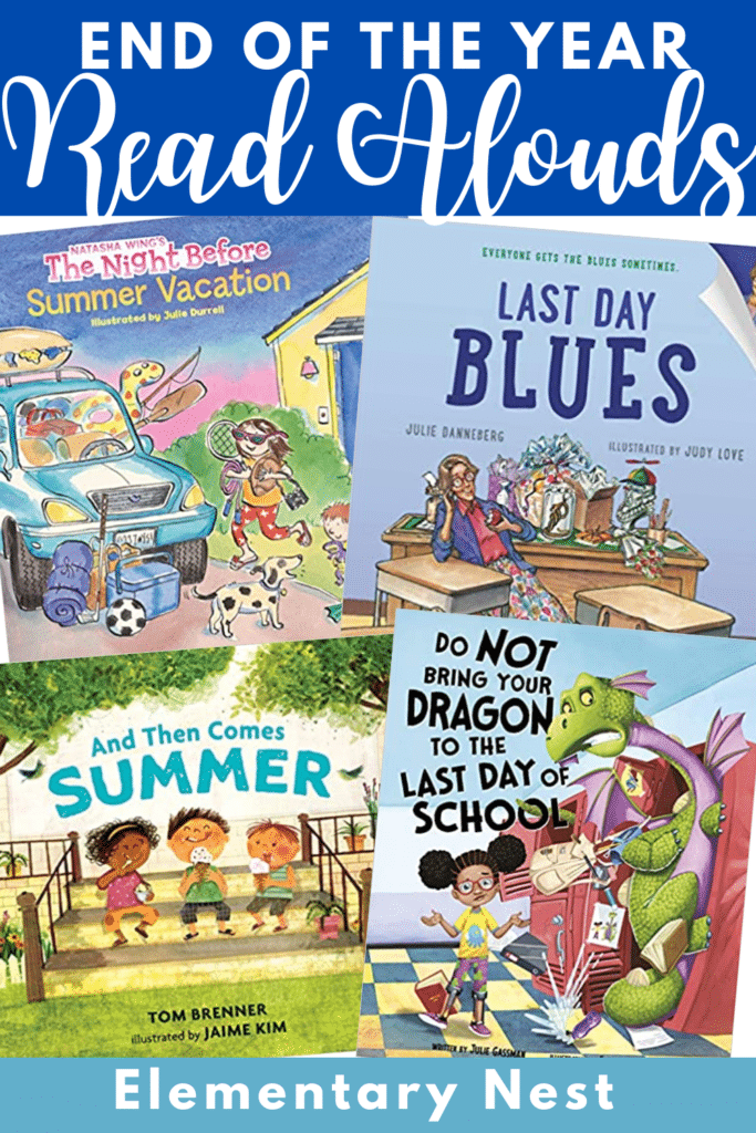 end of the year book read aloud suggestions
